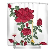 Bouquet Of Life Shower Curtain
