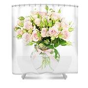 Garden Roses  Shower Curtain