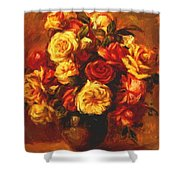 Bouquet Of Roses 1 Shower Curtain