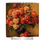 Bouquet Of Roses 1900 Shower Curtain