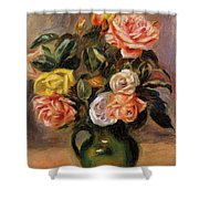 Bouquet Of Roses 2 Shower Curtain