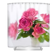 Bouquet Of Roses II Shower Curtain