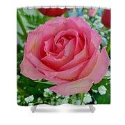 Bouquet Rose Shower Curtain