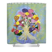 Bouquet Today Shower Curtain