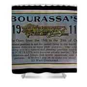 Bourassa's Photographic Studio Shower Curtain