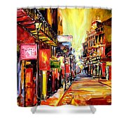 Bourbon Street Dazzle Shower Curtain