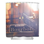 Bourbon Street New Orleans La Shower Curtain