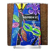 Bourbon Street Original Shower Curtain