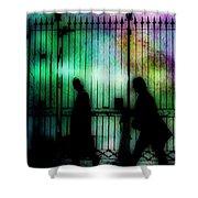 Bourbon Street Stroll Shower Curtain