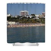 Bournemouth Beaches Shower Curtain