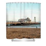 Bournemouth Pier No 2 Shower Curtain
