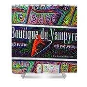 Boutique Du Vampyre -  New Orleans Shower Curtain
