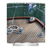 Bow And Chain  Shower Curtain