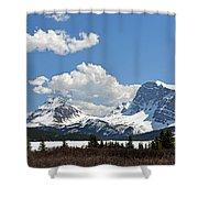 Bow Lake Vista Shower Curtain