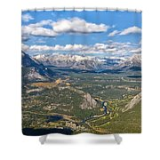 Bow River Beauty Shower Curtain