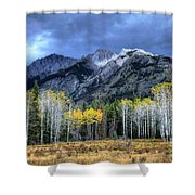 Bow Valley Parkway Banff National Park Alberta Canada II Shower Curtain