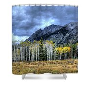 Bow Valley Parkway Banff National Park Alberta Canada IIi Shower Curtain