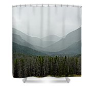 Bowen Mountain In Summer Storm Shower Curtain