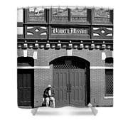 Bowery Mission Shower Curtain