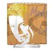Bowie Modern Love  Shower Curtain