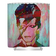 Bowie Reflection Shower Curtain