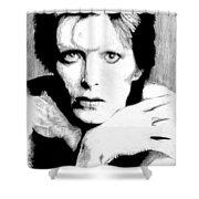Bowie Shower Curtain