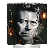 Bowie Shower Curtain