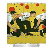 Bowling Lesson Shower Curtain