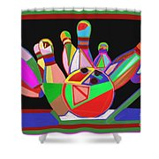 Bowling Sports Fans Decoration Acrylic Fineart By Navinjoshi At Fineartamerica.com  Down Load  Jpg F Shower Curtain