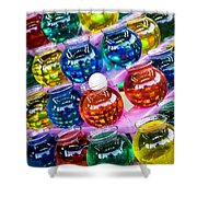Bowls Shower Curtain