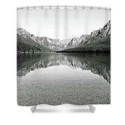 Bowman Lake - Glacier National Park 2 Shower Curtain
