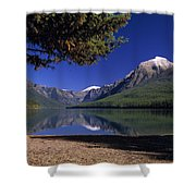 Bowman Lake Shower Curtain