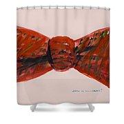 Bowtie 1 Shower Curtain