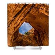 Bowtie Arch Near Arches National Park - Utah Shower Curtain
