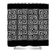 17 D Interdimensional Shower Curtain