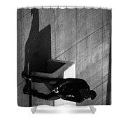 Boxed Inn Shower Curtain