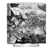 Boxer Rebellion Shower Curtain