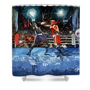 Boxing Night Shower Curtain