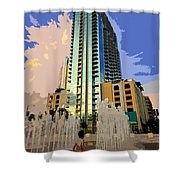 Boy Growing Up Shower Curtain