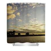 Boyanup Dusk Shower Curtain