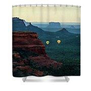 Boynton Canyon 07-079 Shower Curtain