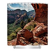 Boynton Canyon 08-160 Shower Curtain