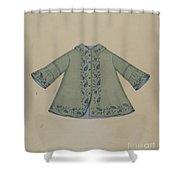 Boy's Coat Shower Curtain