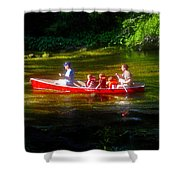 Boy's Day Out Shower Curtain