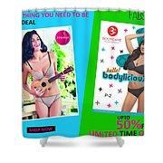 Bra Shop Online Shower Curtain