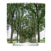 Brabant Road Shower Curtain