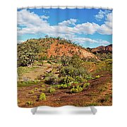 Bracchina Gorge Flinders Ranges South Australia Shower Curtain