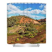Bracchina Gorge Flinders Ranges South Australia Shower Curtain