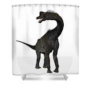 Brachiosaurus Shower Curtain