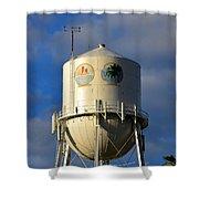 Bradenton Water Tower  Shower Curtain